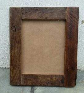 Handmade rustic small Picture Frame