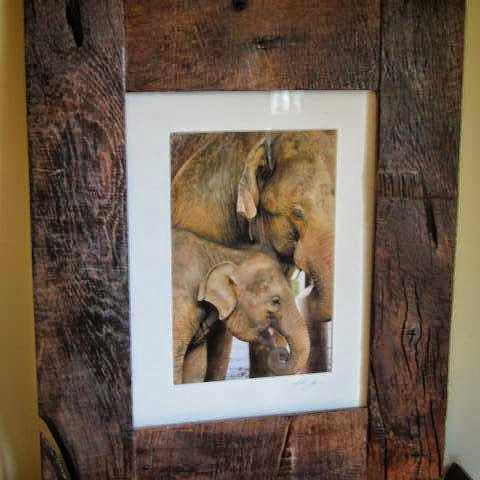 Rustic Wall Decor Picture Frame