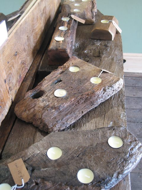 Rustic Candle Holder Hampshire