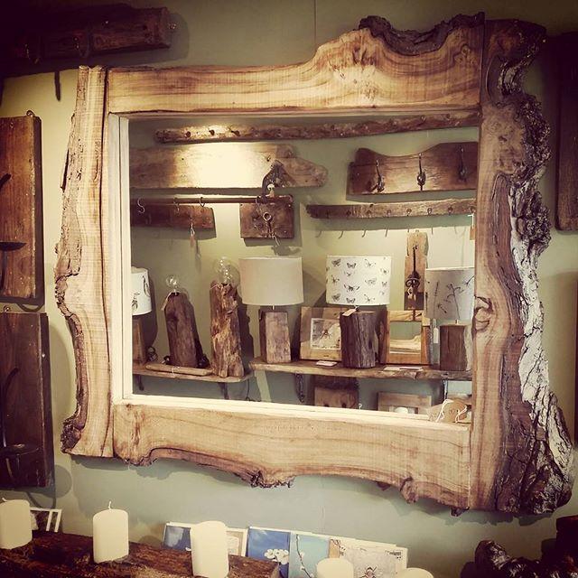 Bespoke Wooden Mirror