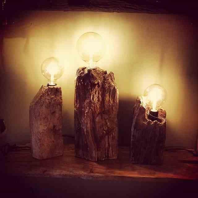 Vintage rustic lighting