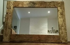 Bespoke rustic mirrors
