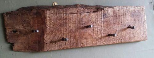 Hampshire rustic coat hook rack