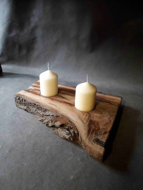 Rustic canfle holders UK