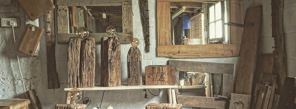 Rustic furniture shop